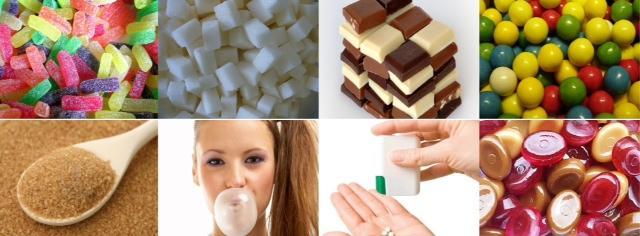 şeker kolaj
