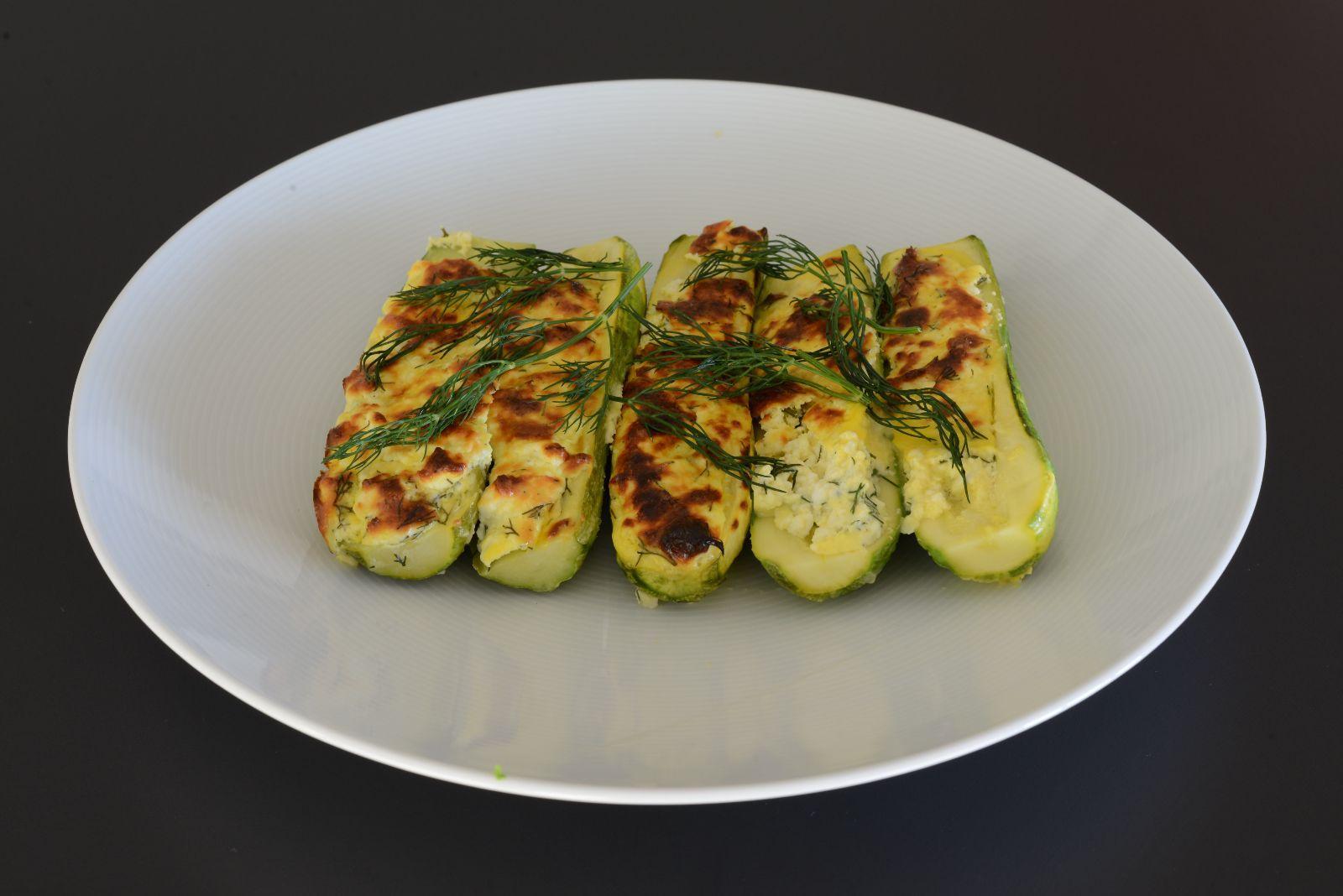 Diyet Peynirli Kabak Tarifi – Sebze Yemekleri
