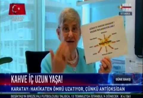 """Prof. Dr. Canan Karatay: """"3 fincan kahve içmek ömrü uzatıyor"""""""